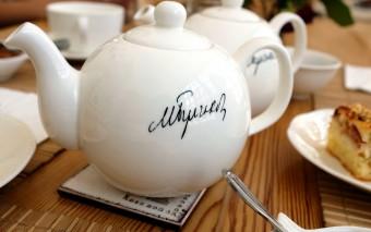 Чаепитие в доме Булгаковых