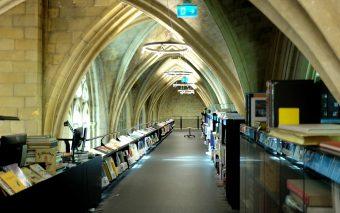 Самые невероятные книжные магазины: #1