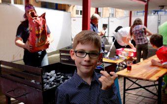 Школьный фестиваль у Антона