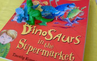 Динозавры в супермаркете, 5 книжек недели